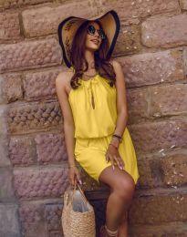 Фустан - код 8399 - жолта