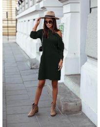 Фустан - код 8171 - темно зелена
