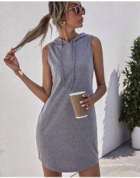 Фустан - код 1687 - сиво