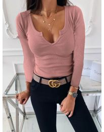 Блуза - код 875 - пудра