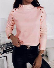 Блуза - код 2899 - 3 - розова