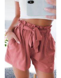 Кратки панталони - код 3637 - праска