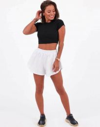 Кратки панталони - код 11979 - бела