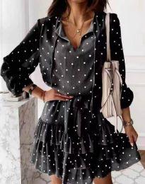 Фустан - код 7113 - црна