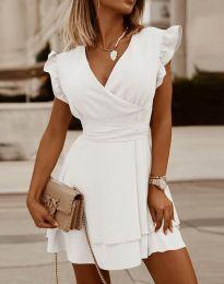 Фустан - код 5654 - бело