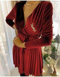 Фустан - код 8619 - 5 - црвена