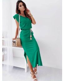 Фустан - код 6622 - зелена