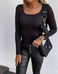Блуза - код 6342 - црна