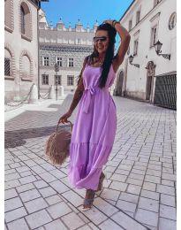 Фустан - код 1230 - виолетова