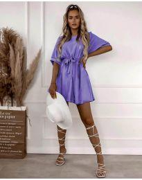 Фустан - код 13131 - виолетова