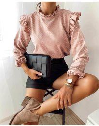 Блуза - код 5455 - розова