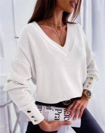Блуза - код 5236 - бела
