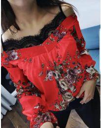 Блуза - код 796 - црвена