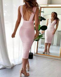 Фустан - код 1389 - 1 - розова