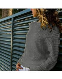 Блуза - код 825 - сиво