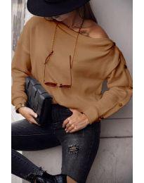 Блуза - код 4640 - капучино