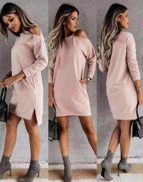 Фустан - код 8858 - розова