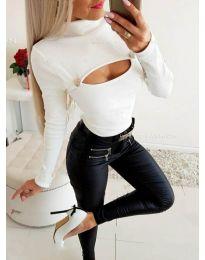 Блуза - код 3501 - бела