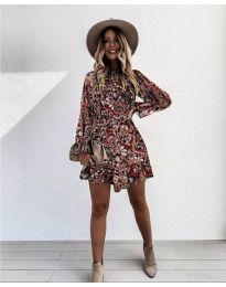 Фустан - код 248 - 4 - шарена