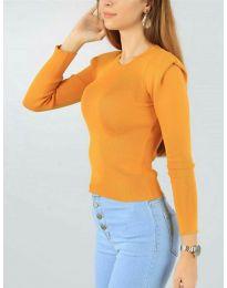 Блуза - код 374 - портокалова