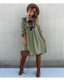 Фустан - код 958 - путер зелена