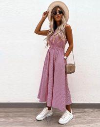 Фустан - код 2687 - розова