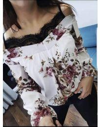 Блуза - код 796 - бела