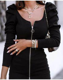 Фустан - код 2067 - 1 - црна