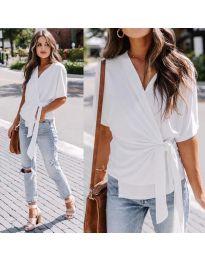 Блуза - код 0009 - бело