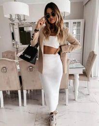 Сукња - код 2260 - бело
