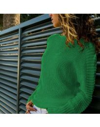 Блуза - код 825 - зелена