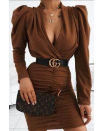 Фустан - код 953 - кафеава