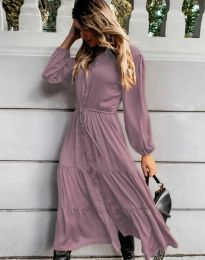 Фустан - код 6522 - виолетова