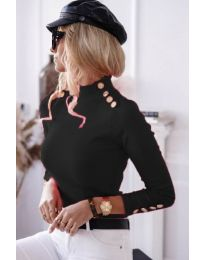 Блуза - код 6343 - 1 - црна