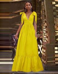 Фустан - код 2743 - жолта