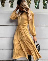 Фустан - код 6522 - жолта