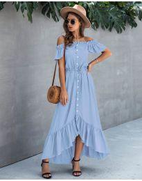 Фустан - код 564 - светло сина