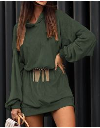 Фустан - код 4547 - путер зелена