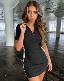 Фустан - код 2912 - 1 - црна