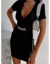 Фустан - код 4305 - црна