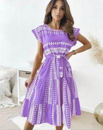 Фустан - код 2660 - виолетова