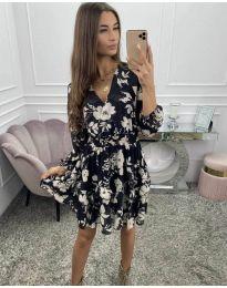 Фустан - код 5589 - црна