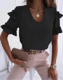 Блуза - код 2670 - црна