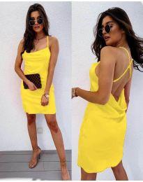 Фустан - код 672 - жолта