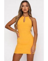 Фустан - код 11936 - жолта