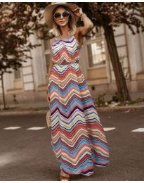 Фустан - код 9853 - шарена