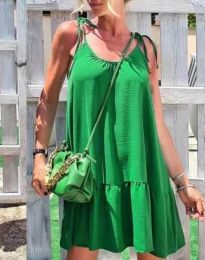 Фустан - код 6589 - зелена