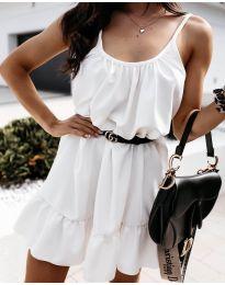 Фустан - код 7768 - бело