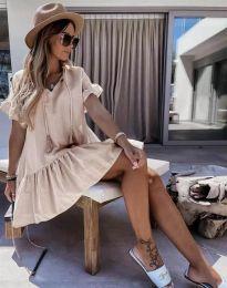 Фустан - код 6144 - кремова
