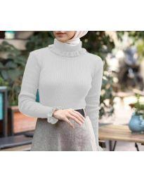 Блуза - код 6556 - бела